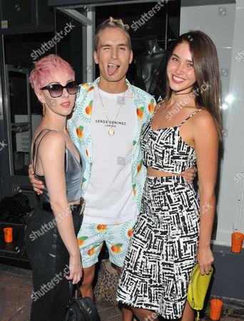 Femme, Oliver Proudlock and Chanel Celaya