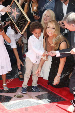 Mariah Carey with Moroccan Scott Cannon