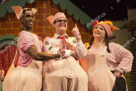 Editorial photo of 'The 3 Little Pigs' play, Palace Theatre, London, Britain - 05 Aug 2015