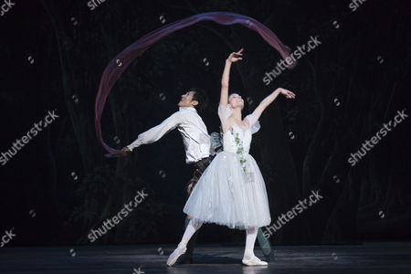 Editorial photo of 'La Sylphide' performed by Queensland Ballet, London, Britain - 04 Aug 2015