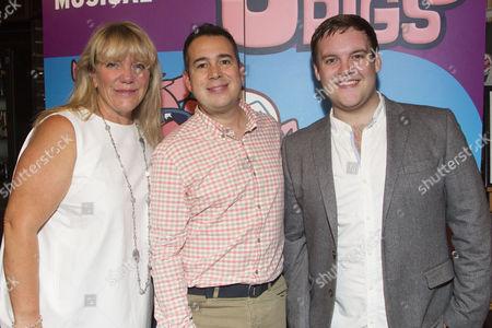 Alison Jiear (Mother Pig), Kenny Wax (Producer) and Daniel Buckley (Q)