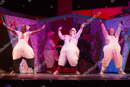 Editorial picture of 'The Three Little Pigs' musical premiere, London, Britain - 06 Aug 2015