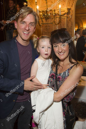 Stock Photo of Mark Goldthorp and Kirsty Hoiles, with Poppy