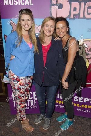 Caroline Sheen, Jenna Russell and Sally Ann Triplett