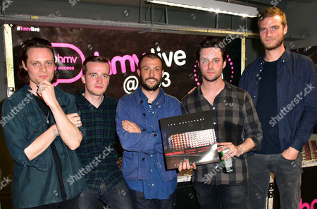 The Maccabees - Hugo White, Sam Doyle, Orlando Weeks, Felix White and Rupert Jarvis