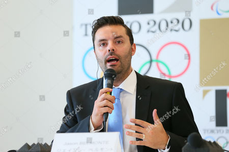 Editorial photo of Tokyo 2020 Media Conference, Tokyo, Japan - 07 Aug 2015