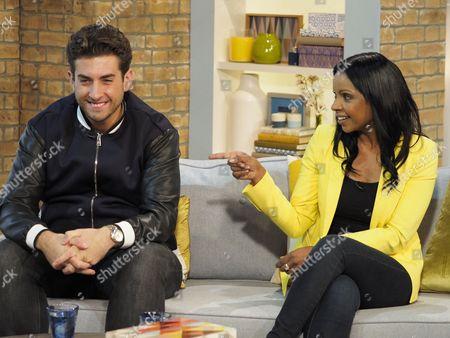 James Argent and Anjula Mutanda
