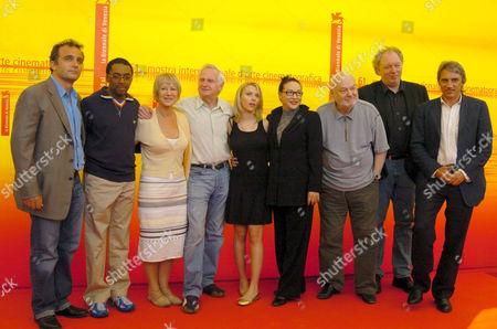 The jury: John Boorman (the president) Scarlett Johansson, Wolfgang Becker, Mimmo Calopresti, Spike Lee, Dusan Makavejev, Helen Mirren, Pietro Scalia and Xu Feng