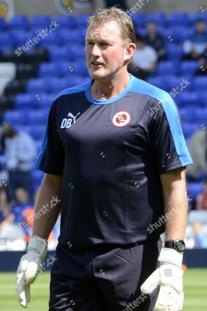 Reading Goalkeeper coach Dave Beasant during the Sky Bet Championship match between Birmingham City and Reading at St Andrews, Birmingham