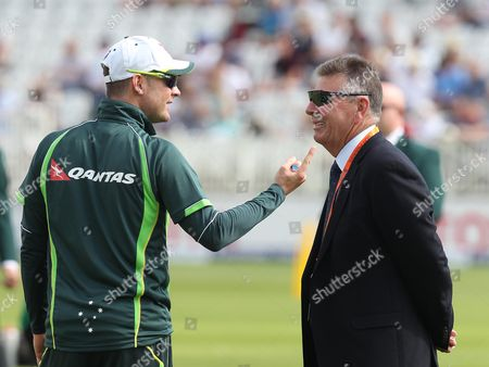 Editorial picture of England v Australia, Fourth Investec Test Match, Day Three, The Ashes, Cricket, Trent Bridge, Britain - 08 Aug 2015