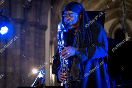 Editorial image of Brecon Jazz festival, Powys, Wales, Britain - 08 Aug 2015
