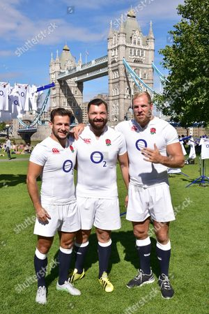 Danny Care, Alex Corbisiero, James Haskell