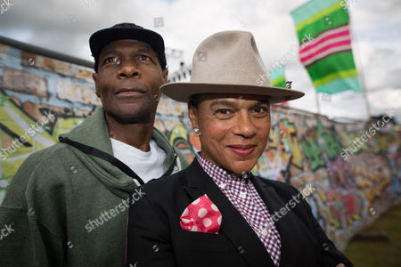 The Selecter - Arthur 'Gaps' Hendrickson and Pauline Black