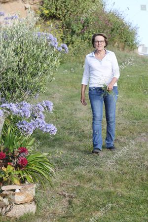 The French Minister of Decentralization and Public Service Marylise Lebranchu spends on holiday at her second home
