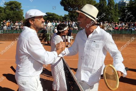 Henri Leconte and Arnaud Lemaire