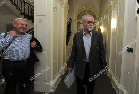Economist Richard Murphy and Jeremy Corbyn