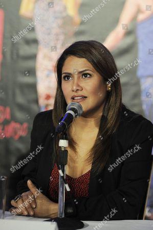 Stock Picture of Vanessa Bauche