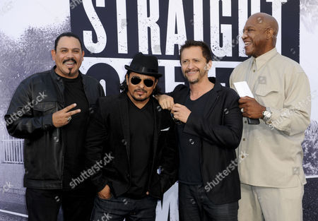 Emilio Rivera, Jacob Vargas, Clifton Collins Jr and Tommy Lister