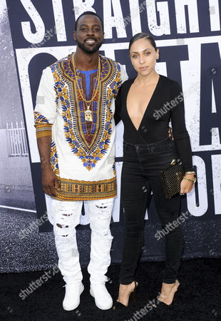 Lance Gross and wife Rebecca Jefferson