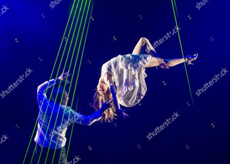 Editorial image of 'Impossible' Magic Show performed at the Noel Coward Theatre, London, Britain - 28 Jul 2015