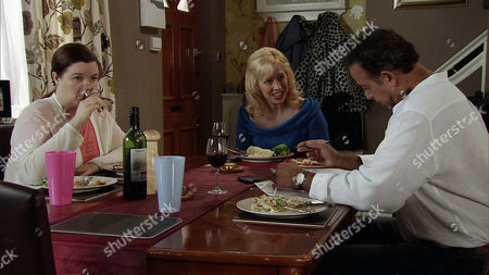 Julie Carp [KATY CAVANAGH] is perturbed by Dev Alahan [JIMMI HARKISHIN] distant demeanour. Meanwhile Mary Taylor [PATTI CLARE] is intrigued when she takes a call on Dev's mobile from a woman named Talisa. Dev assures her they're just friends who met during the charity project but Mary's unconvinced.