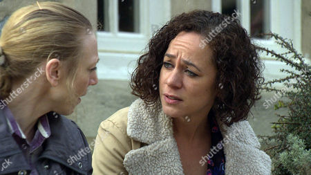 Ruby Haswell [ALICYA EYO] is shocked when Ali Spencer [KELLI HOLLIS] tells her they need to move closer to Sean but will Ruby agree to leave the village.