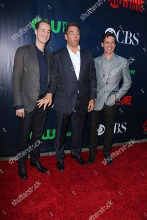 Stock Image of Sean Murray, Michael Weatherly, Brian Dietzen