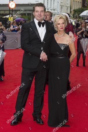 Stock Image of Brendan Coyle and Joy Harrison