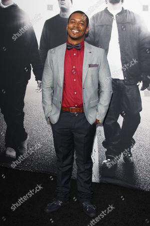 Editorial photo of 'Straight Outta Compton' film premiere, Los Angeles, America - 10 Aug 2015