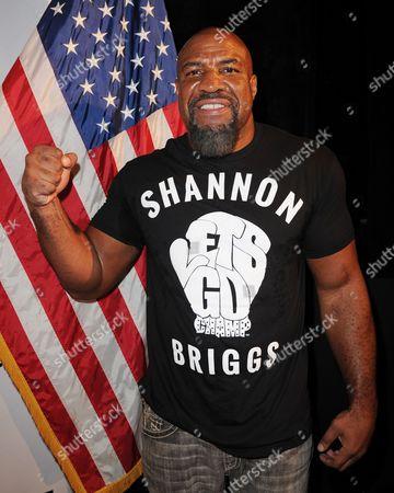 Editorial image of Shannon Briggs v Mike Marrone boxing press conference, Seminole Hard Rock Hotel & Casino, Hollywood, Florida, America - 11 Aug 2015