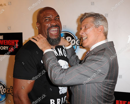 Stock Picture of Shannon Briggs, Michael Buffer