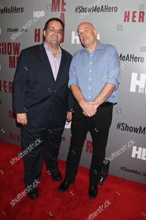 Kary Antholis and David Simon, writer & executive producer