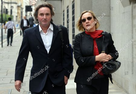 Simon Murphy, 48 and girlfriend Lisanne Beck, 47