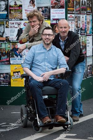Tony Law and Fred MacAuley with Gordon Aikman
