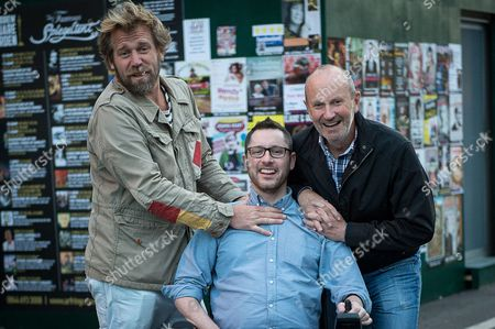 Stock Image of Tony Law and Fred MacAuley with Gordon Aikman