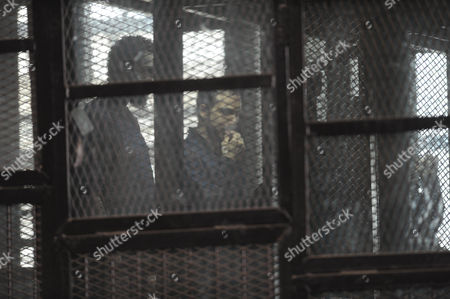 Editorial image of Trial of members of the Muslim Brotherhood, Cairo, Egypt - 10 Aug 2015