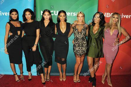 Nicole Williams, Natalie Halcro, Olivia Pierson, Sasha Gates, Kelly Kelly, Ashley North, Autumn Ajirotutu