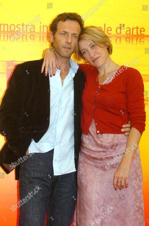Stephane Freiss and Valeria Bruni Tedeschi