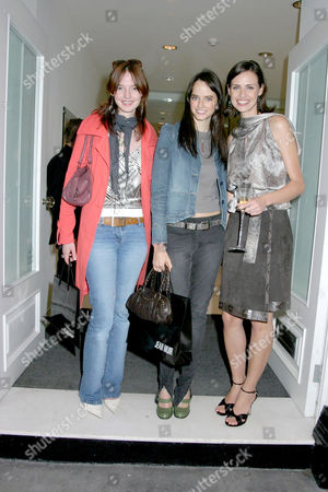 Editorial photo of JEAN MUIR SHOP OPENING, LONDON, BRITAIN - 02 SEP 2004