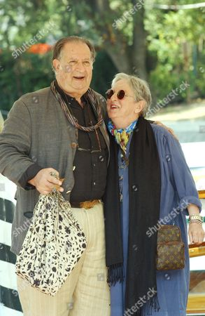 Tinto Brass with wife