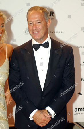 Francesco Trapani managing director of Bulgari attending the Amfar party.