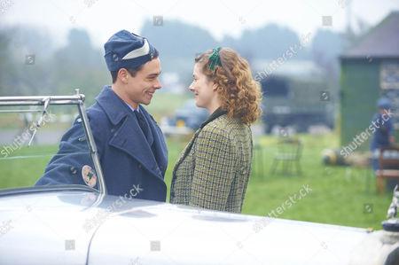 L-R: Rachel Hurd-Wood as Kate Campbell and Adam Long as Jack Heaton.