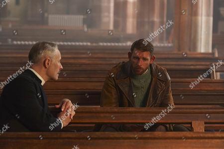 Mark Bonnar as Adam King and Chris Coghill as Stanley Farrow.