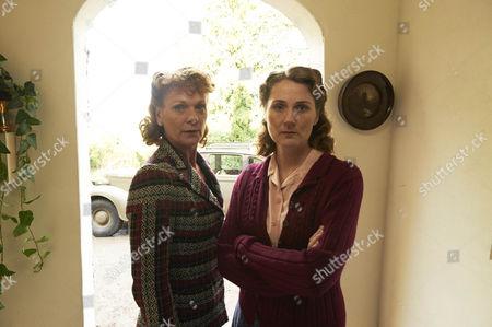 Samantha Bond as  Frances Barden and Ruth Gemmell as Sarah King