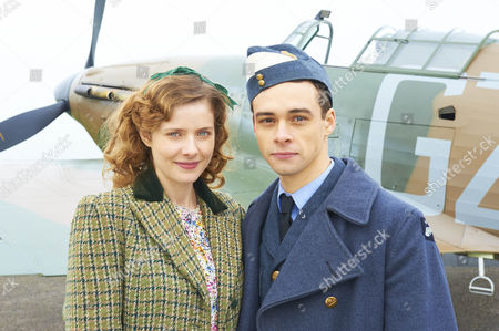 Stock Picture of L-R: Rachel Hurd-Wood as Kate Campbell and Adam Long as Jack Heaton.