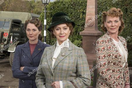 Ruth Gemmell as Sarah King, Francesca Annis as Joyce Cameron and Samantha Bond as Frances Barden.