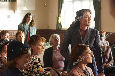Ruth Gemmell as Sarah King and Samantha Bond as Frances Barden.
