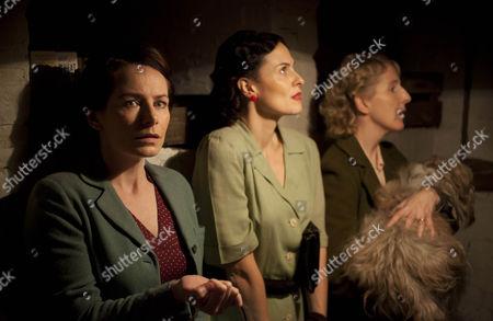 Clare Calbraith as Steph Leanne Best as Teresa Stockwood and Fenella Woolgar as Alison Scotwood.