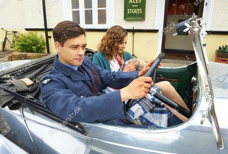 Adam Long as Jack Heaton and Rachel Hurd-Wood as Kate Campbell.