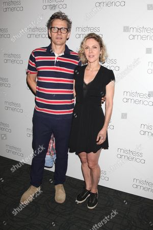Dean Wareham and Britta Phillips, music composers for the film